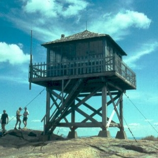 New Hampshire Fire Towers Kearsarge North Pequawket Tower