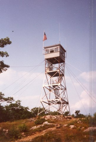 New Hampshire Fire Towers - Red Hill